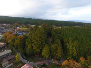 須山浅間神社空撮映像